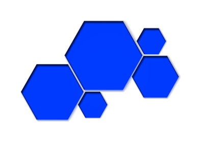使用几何元素的超酷网页设计